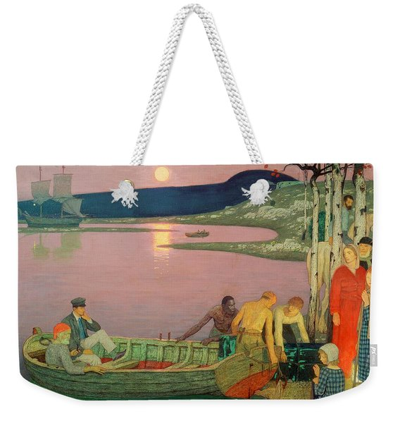 The Call Of The Sea Weekender Tote Bag
