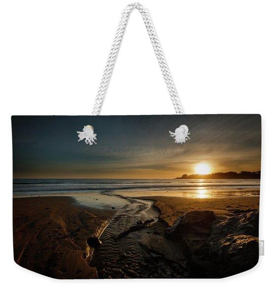 The Calming Bright Light Weekender Tote Bag