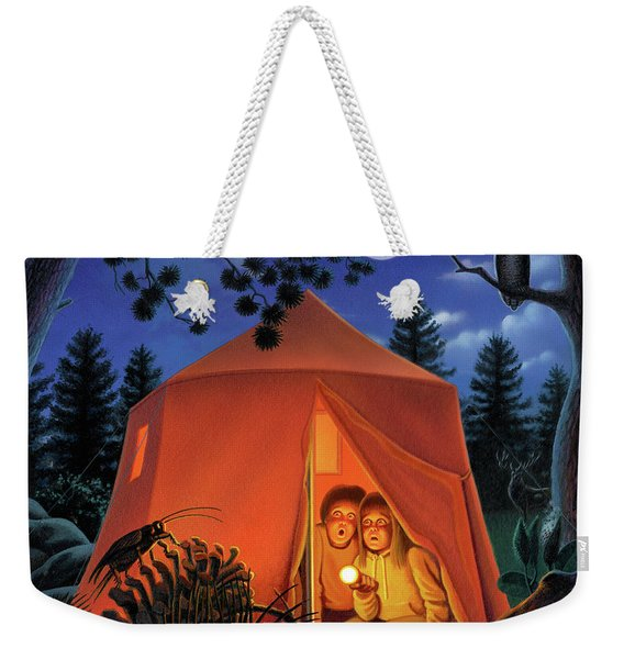 The Campout Weekender Tote Bag