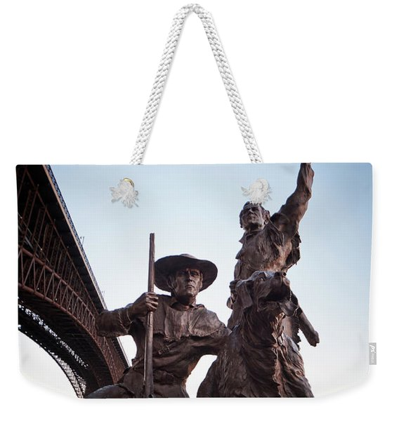 The Captain Returns Weekender Tote Bag
