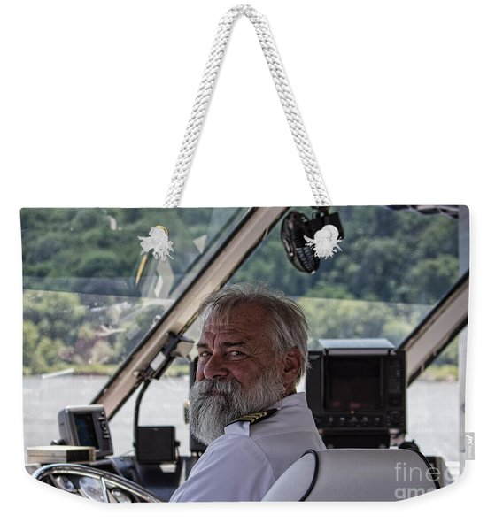 The Captain Weekender Tote Bag