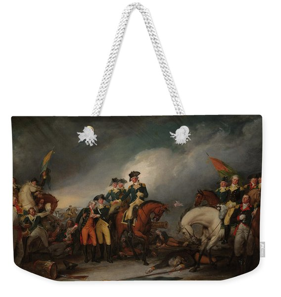 The Capture Of The Hessians At Trenton Dec 26, 1776 Weekender Tote Bag