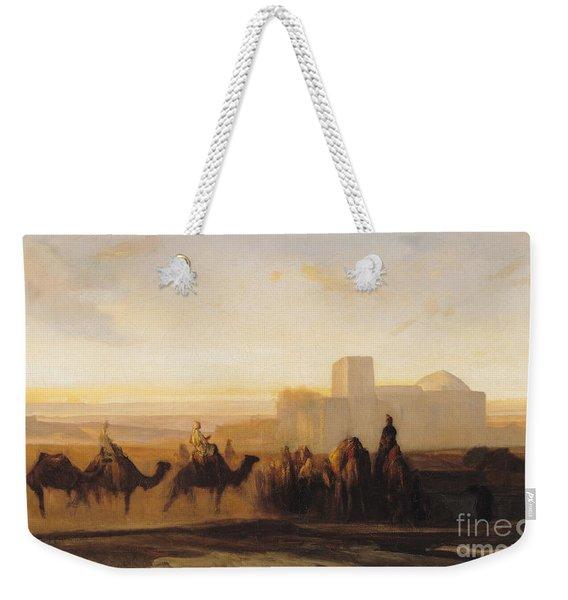 The Caravan Weekender Tote Bag