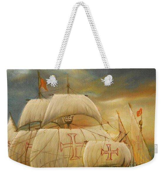 The Caravel Weekender Tote Bag