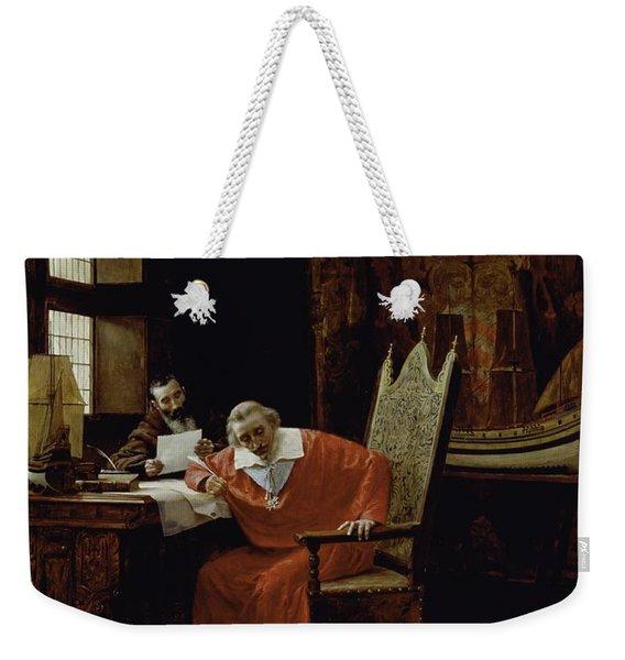The Cardinal's Leisure  Weekender Tote Bag