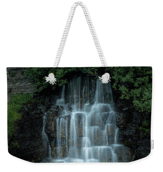 The Cascading Waterfall Weekender Tote Bag