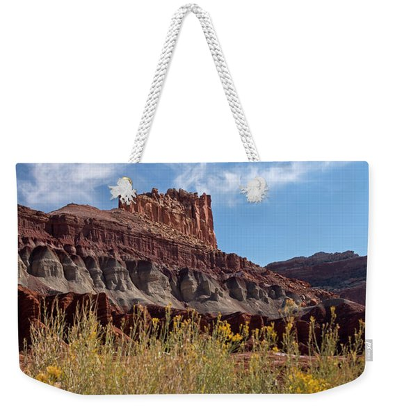 Rock Formation Capital Reef Weekender Tote Bag