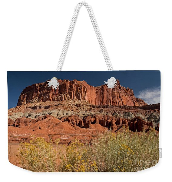 The Castle In Capital Reef Weekender Tote Bag