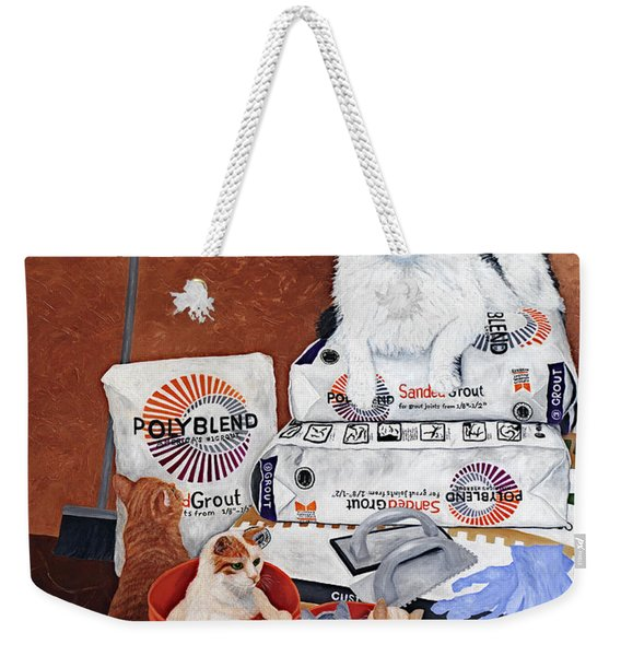 The Cat Crew Weekender Tote Bag