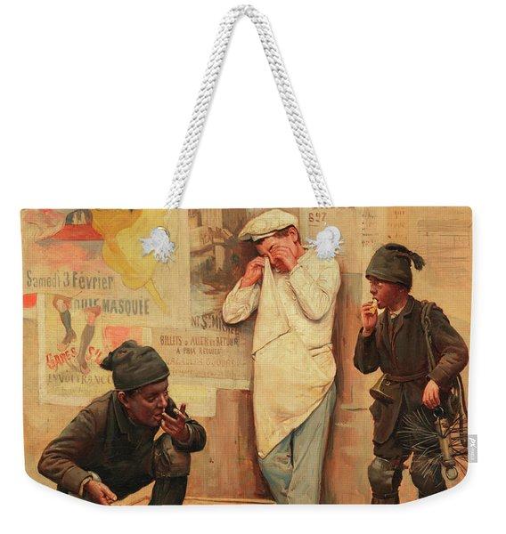 The Catastrophe Weekender Tote Bag