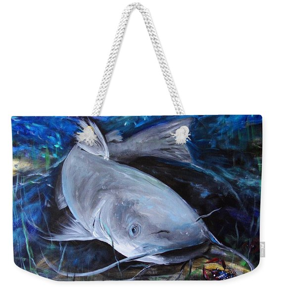 The Catfish And The Crawdad Weekender Tote Bag