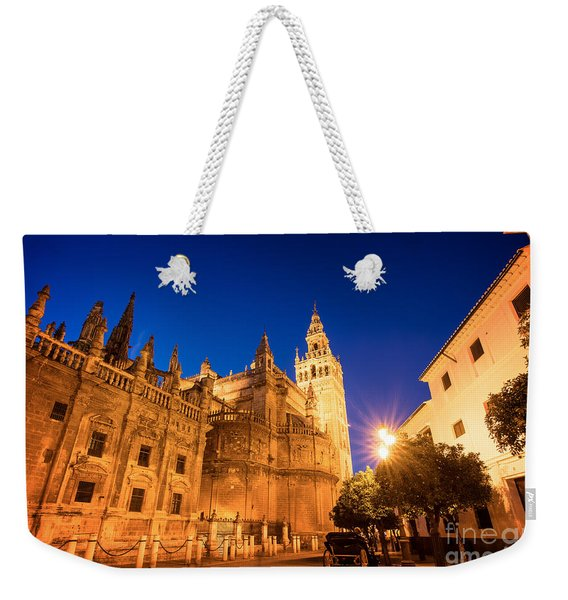 The Cathedral Of Seville Weekender Tote Bag
