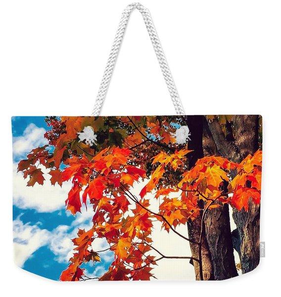 The  Changing  Weekender Tote Bag