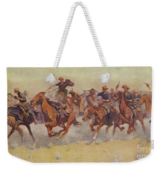 The Charge Weekender Tote Bag