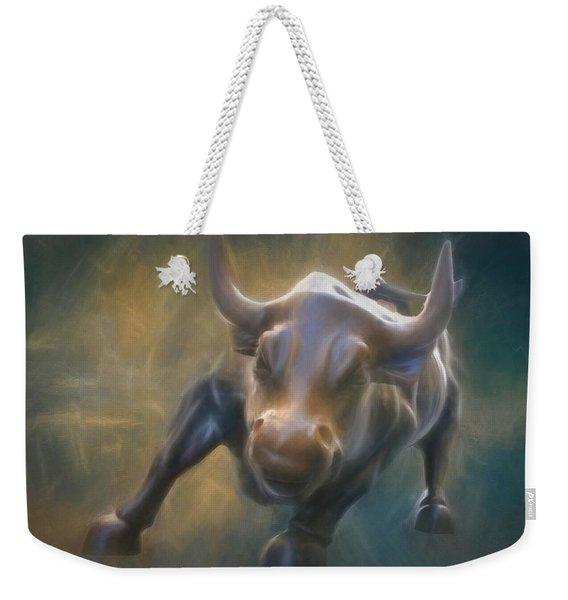 The Charging Bull Weekender Tote Bag