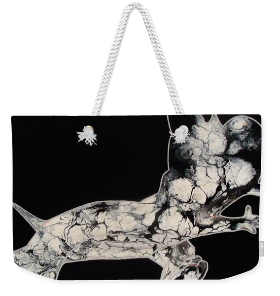 The Chase Bw Weekender Tote Bag