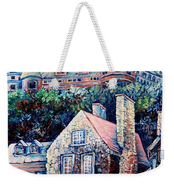 The Chateau Frontenac Weekender Tote Bag