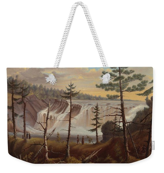 The Chaudiere Falls Weekender Tote Bag