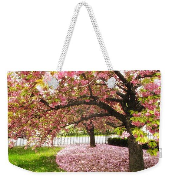The Cherry Tree Weekender Tote Bag
