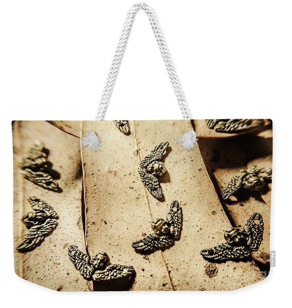 The Cherubs Of Love Weekender Tote Bag