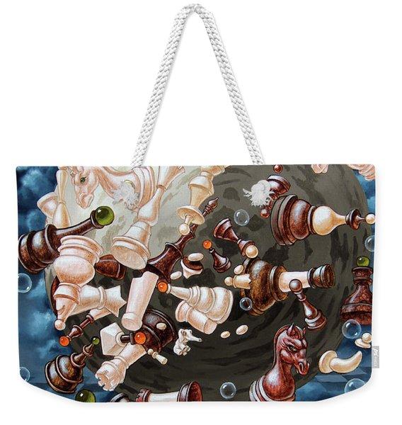 The Chess Planetoid Of Eynstein Weekender Tote Bag