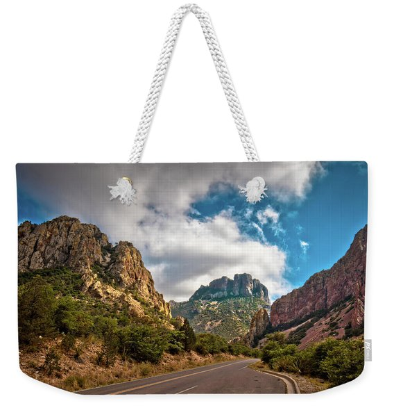 The Chisos Mountains Weekender Tote Bag