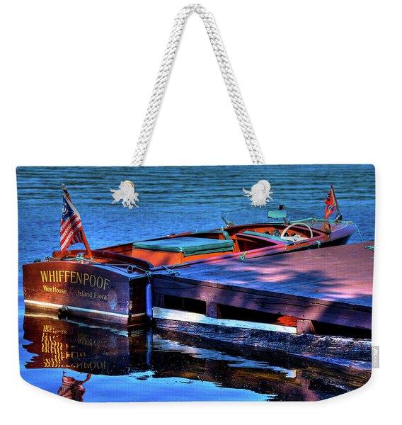 The Vintage 1958 Chris Craft Weekender Tote Bag