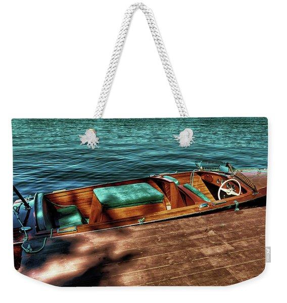 The Chris Craft Continental - 1958 Weekender Tote Bag