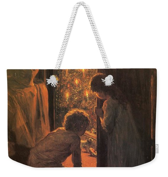 The Christmas Tree Weekender Tote Bag