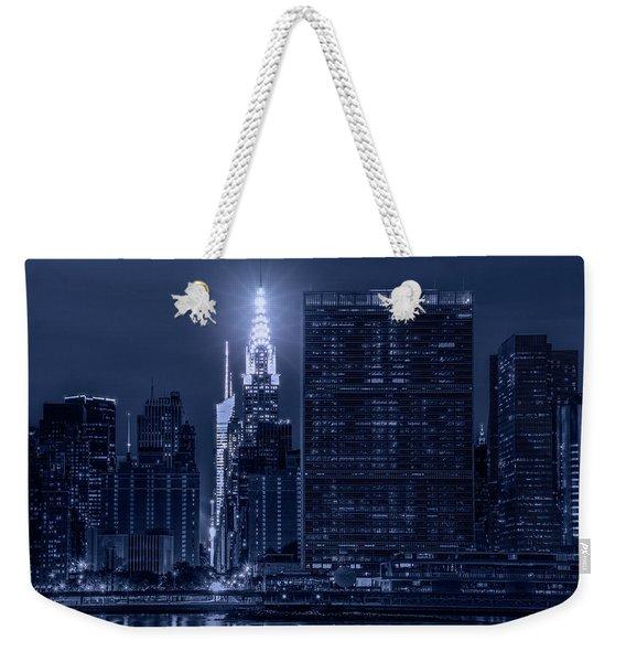 The Chrysler Star Weekender Tote Bag