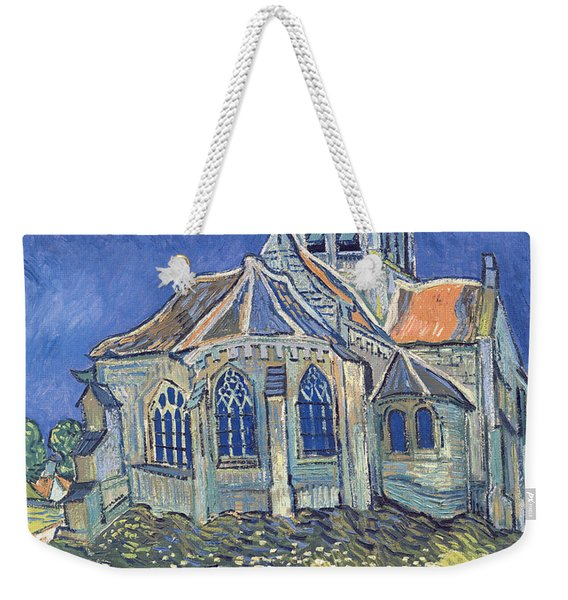 The Church At Auvers Sur Oise Weekender Tote Bag