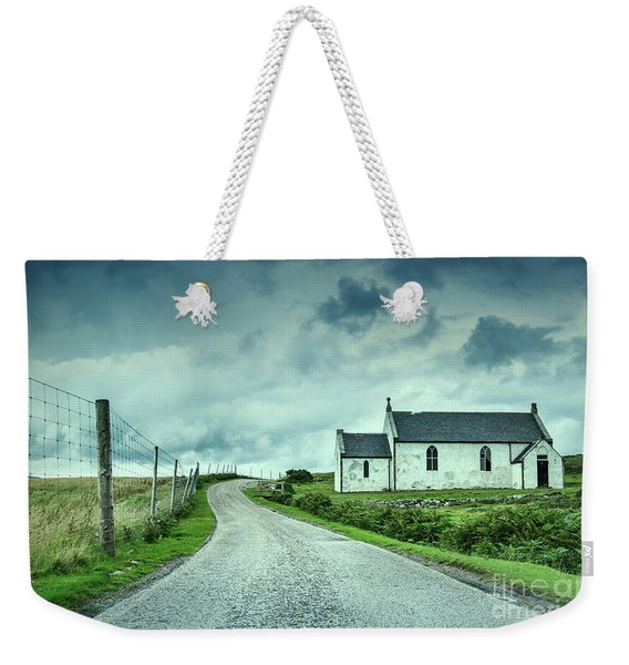 The Church In The Highlands Weekender Tote Bag