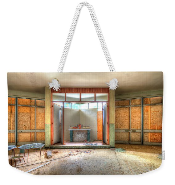 The Church Of The Former Summer Vacation Building - La Chiesa Dell'ex Colonia Marina  Weekender Tote Bag