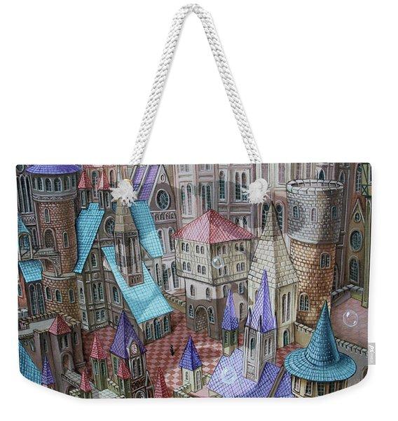 The City Of Crow Weekender Tote Bag