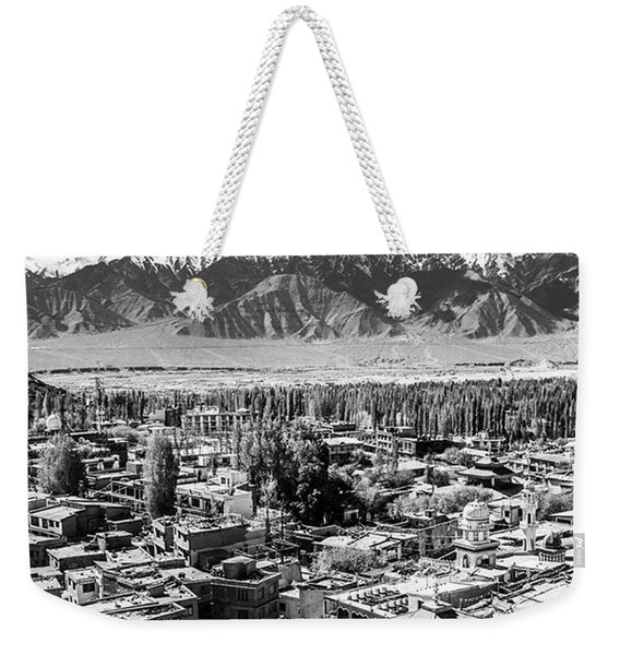 The City Of Leh, From The Rooftops To Weekender Tote Bag
