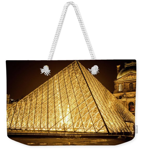 The City Of Paris At Night Weekender Tote Bag