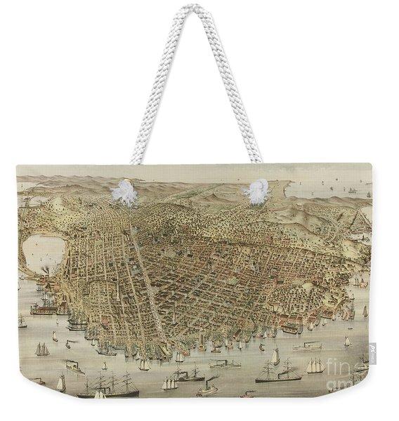 The City Of San Francisco Weekender Tote Bag