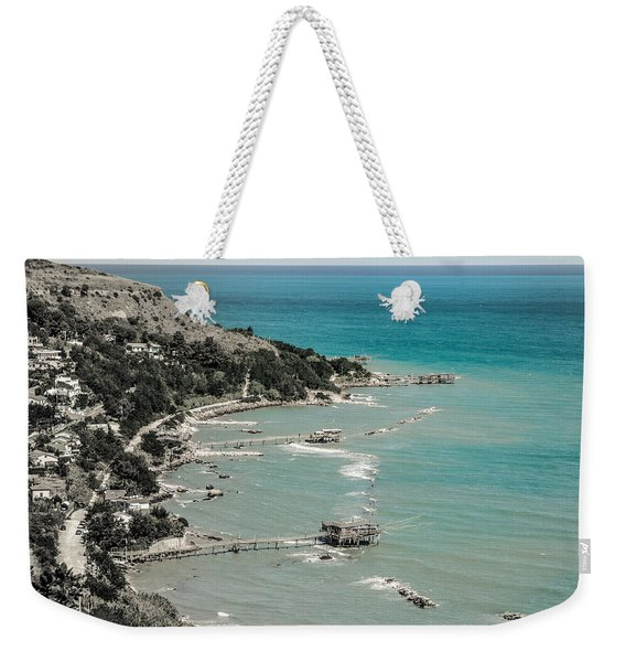 The City Of Waves Weekender Tote Bag