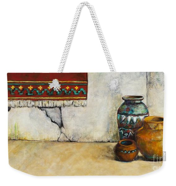 The Clay Pots Weekender Tote Bag