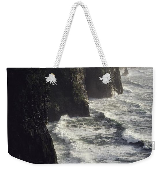 The Cliffs Of Moher Rise Seven-hundred Weekender Tote Bag