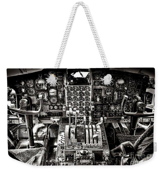 The Cockpit Weekender Tote Bag
