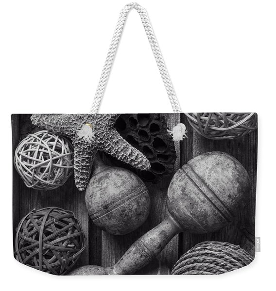 The Collection Black And White Weekender Tote Bag