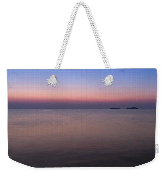 Dawn At The Mediterranean Sea Weekender Tote Bag