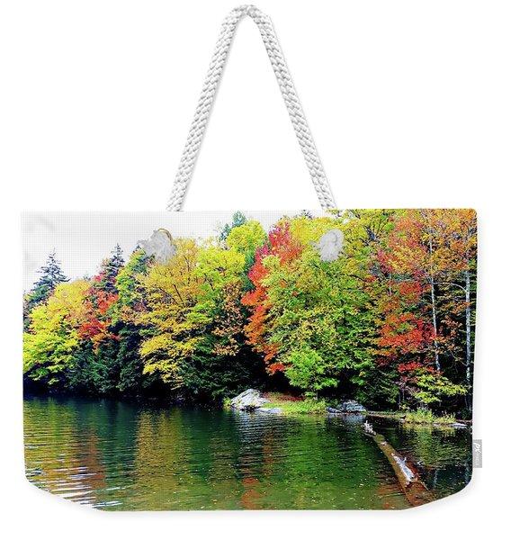The Colors Of Lake Raponda - Wilmington, Vermont Weekender Tote Bag