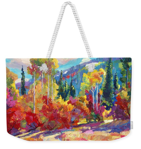 The Colors Of New Hampshire Weekender Tote Bag