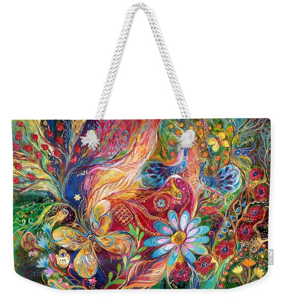 The Colors Of Spring. The Original Can Be Purchased Directly From Www.elenakotliarker.com Weekender Tote Bag