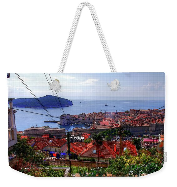 The Colourful City Of Dubrovnik Weekender Tote Bag