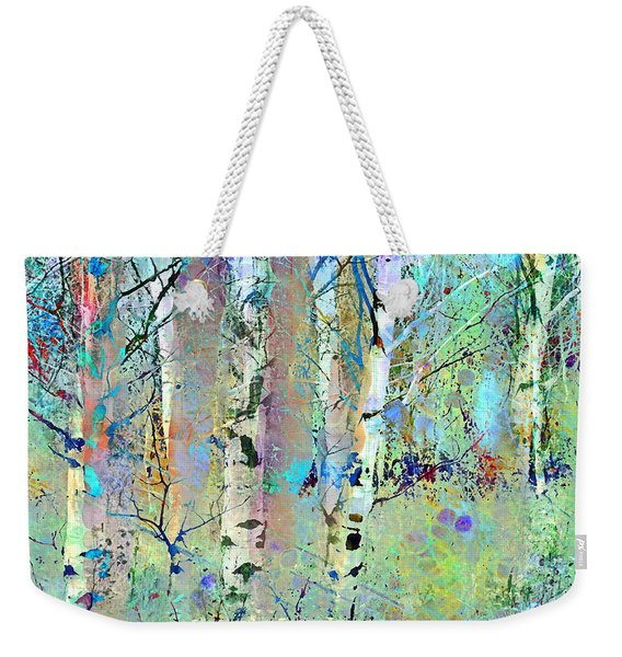 The Colouring Book In The Forest Weekender Tote Bag
