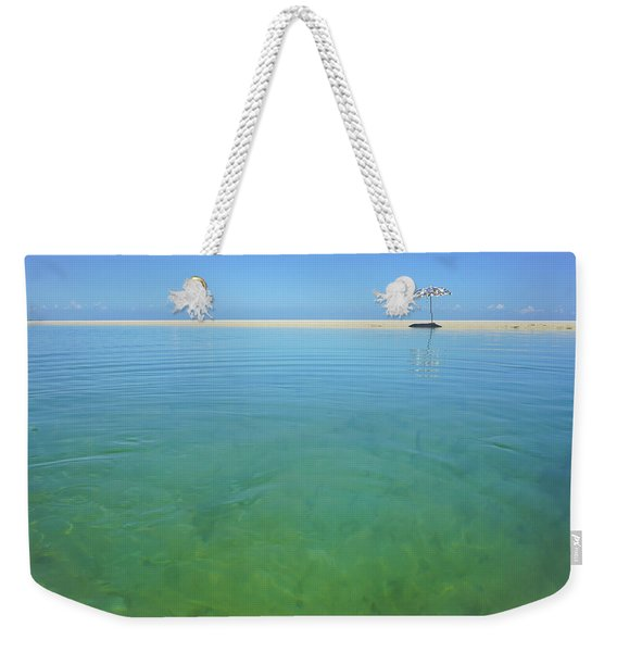 The Colours Of Paradise On A Summer Day Weekender Tote Bag