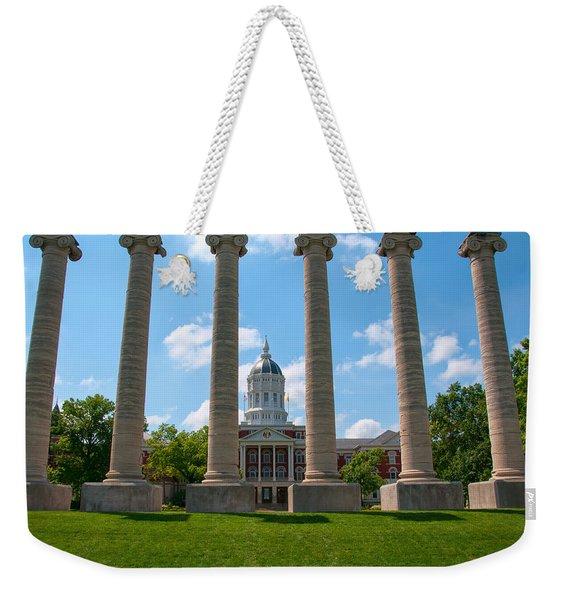 The Columns Weekender Tote Bag